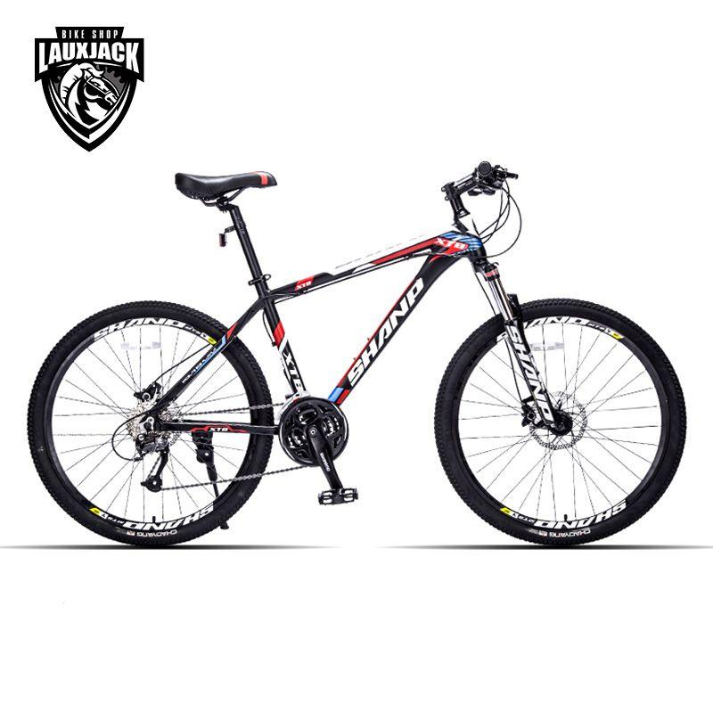 SHANP Mountain Bike Aluminum Frame 27 Speed 26 <font><b>Wheel</b></font> Hydraulic/Mechanical Brake Microshift