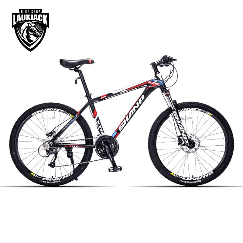 SHANP Mountain Bike Aluminum <font><b>Frame</b></font> 27 Speed 26 Wheel Hydraulic/Mechanical Brake Microshift