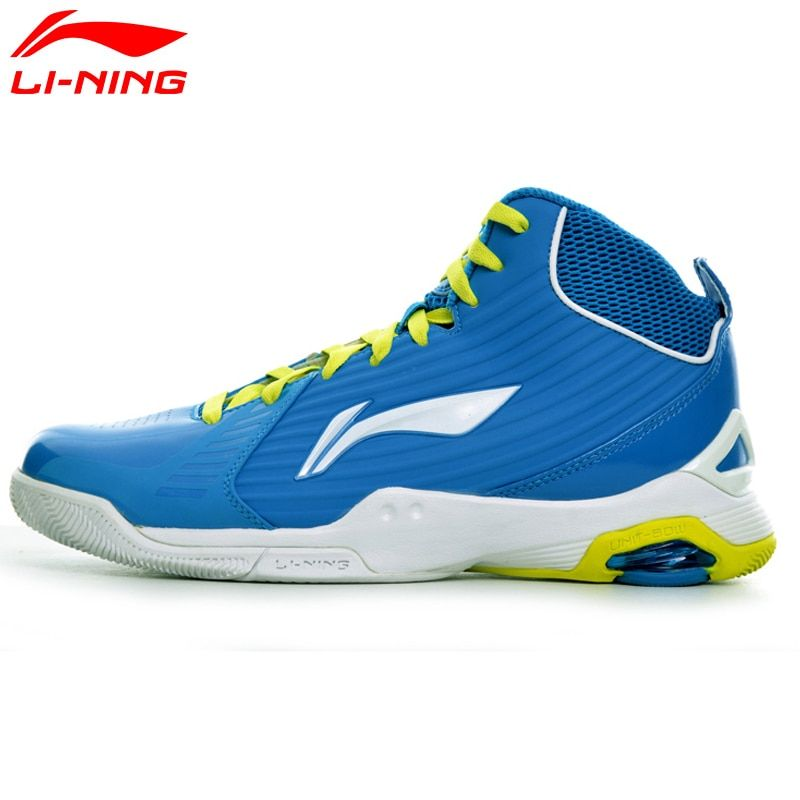 Li-Ning Men's Basketball Shoes CBA Light Sneakers Breathable TPU Cushion LiNing Sports Shoes ABAH045 XYL107