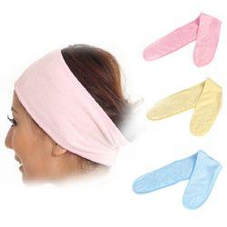 1 Pc de Bain Bandeau Turban Douche Salon Spa de Bain Outils Hairband Bandeaux Laver Le Visage Salle De Bains Accessoires Y4
