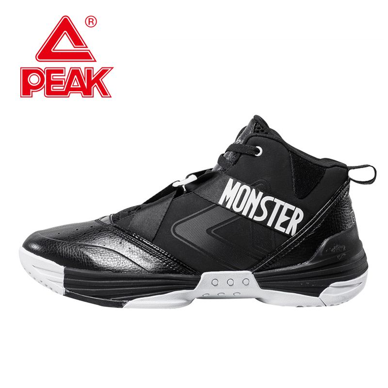 PEAK SPORT New Men Basketball Shoes Professional FOOTHOLD Sport Cushion-3 Tech Athletic Boots Breathable Sneakers Szie EUR 40-47