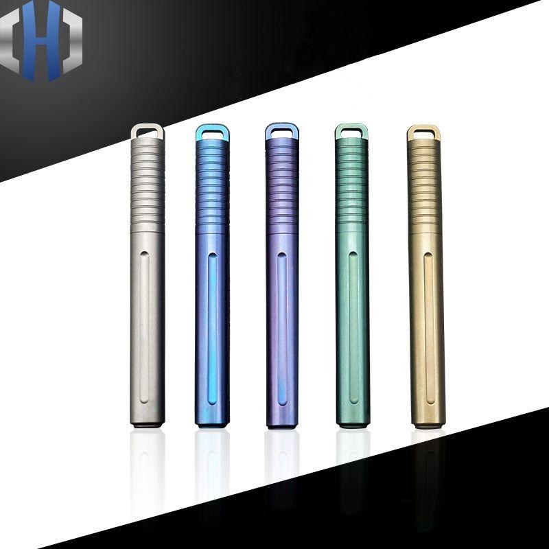 Mini stylo titane Portable Portable EDC Gadget équipement extérieur personnalité stylo Signature créative