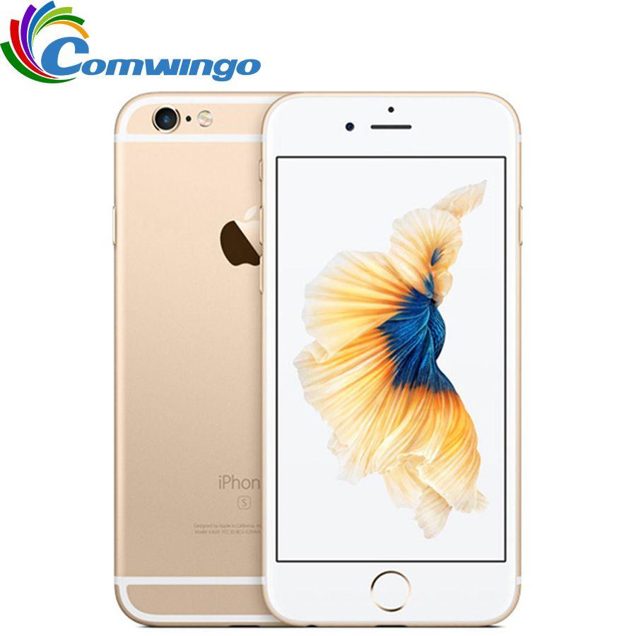 Original Apple iPhone 6 s RAM 2 GB 16 GB ROM 64 GB 128 GB 4.7 iOS Dual Core 12.0MP empreinte digitale 4G LTE débloqué Mobile Phone6s