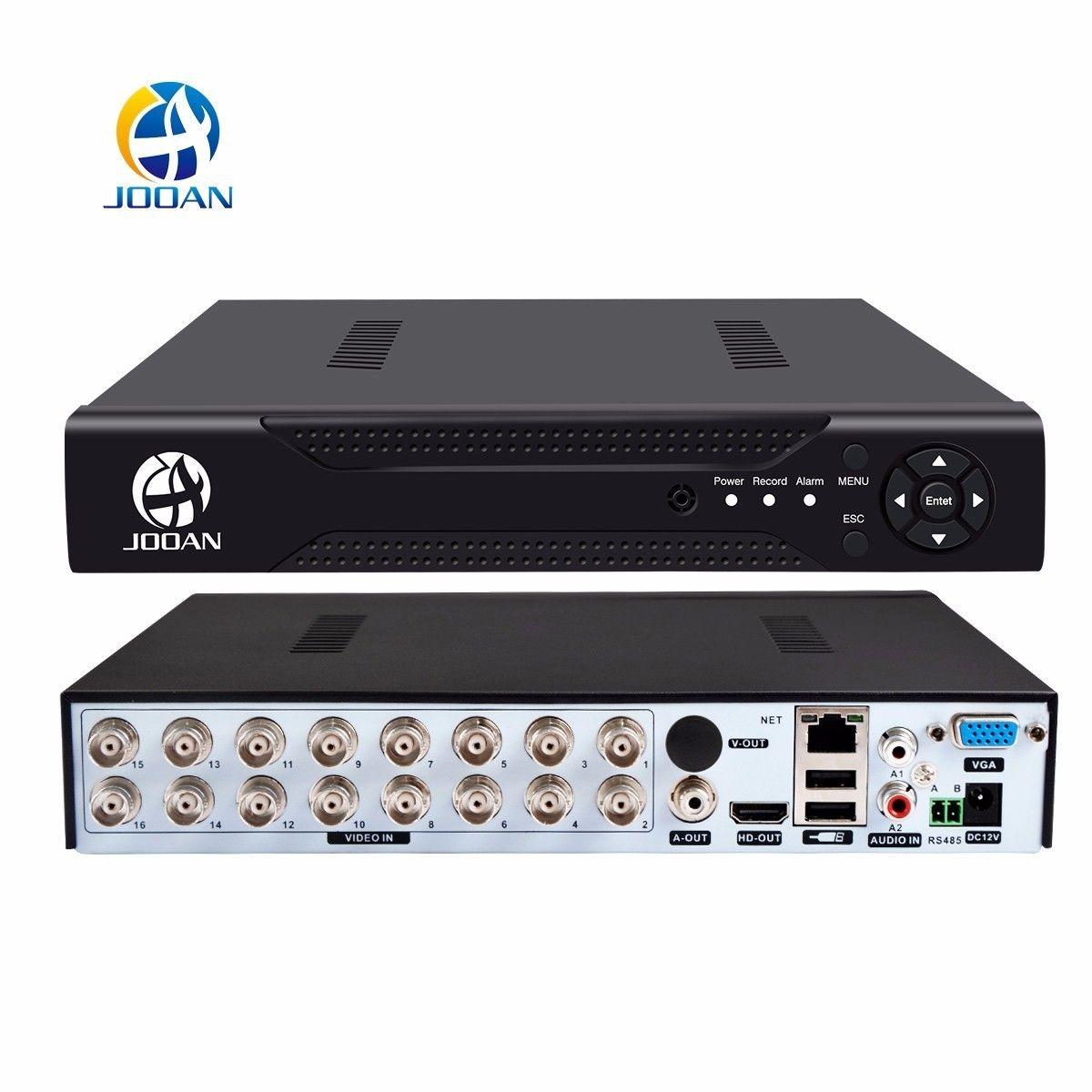 Jooan 4216 т 16ch CCTV видеорегистратор H.264 HD-out P2P Облако видеомагнитофон дома видеонаблюдения CCTV цифровой видеомагнитофон