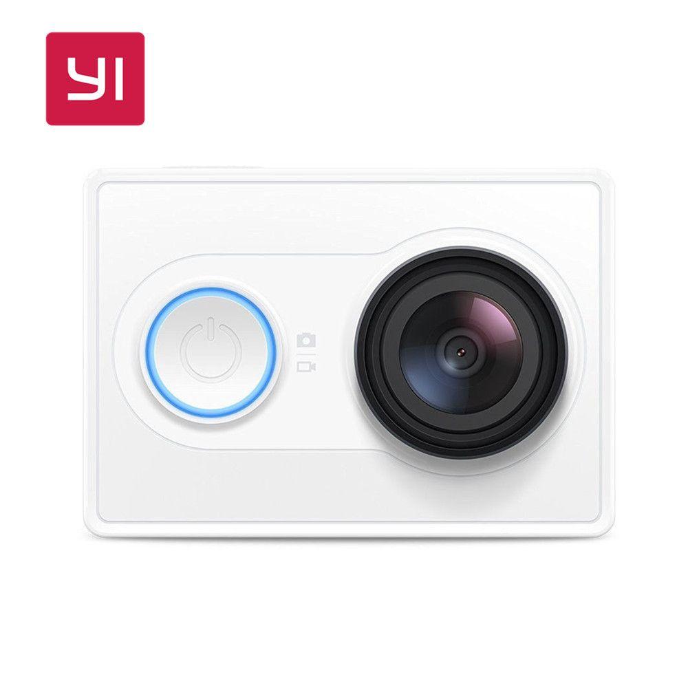 YI D'action Caméra 1080 P 60/30fps Sport Mini Caméra 16.0MP 155 Degrés Ultra-Grand Angle Objectif Intégré WiFi 3D Réduction Du Bruit