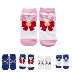2018 neue Mode Mädchen Frauen Baumwolle Socken Anime Sailor Moon Ankle Freizeitkleidung Socken