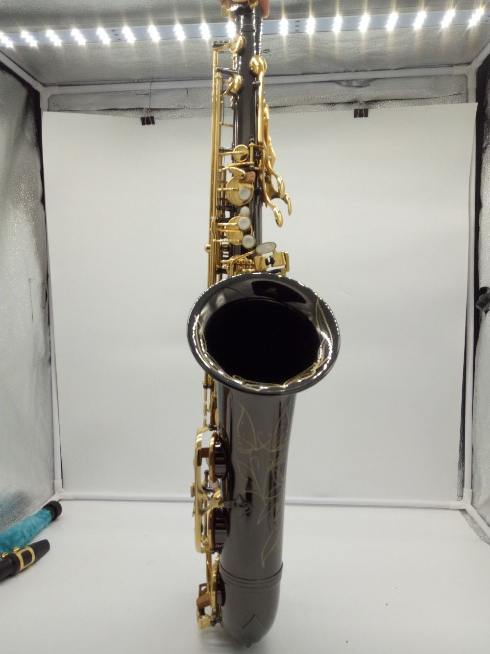 Brand New French Tenor Saxophone 802 Black Lacquer Sax Tenor Musical Instruments Professional 80II Included Case