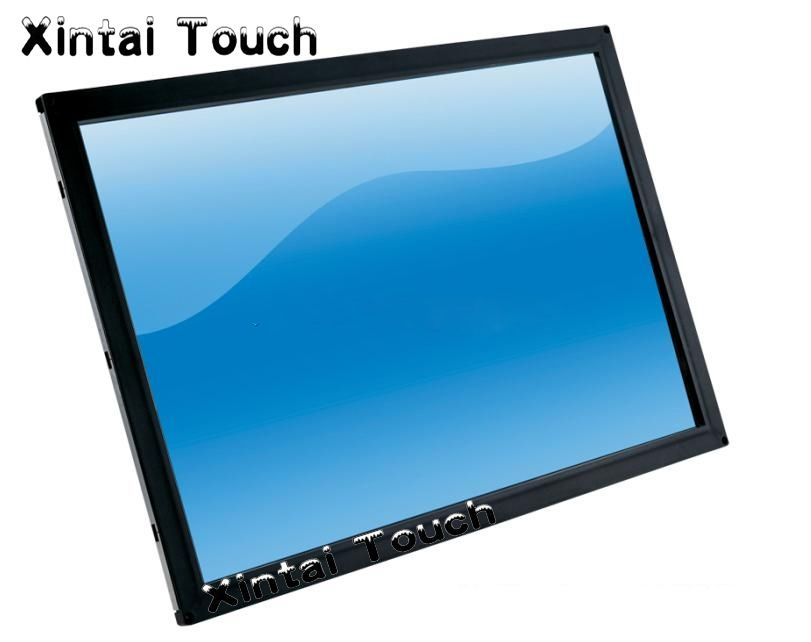 Free shipping! 65 Inch real 2 points touch infrared multi touch screen overlay / IR Touch Screen Frame / Touch Screen Overlay
