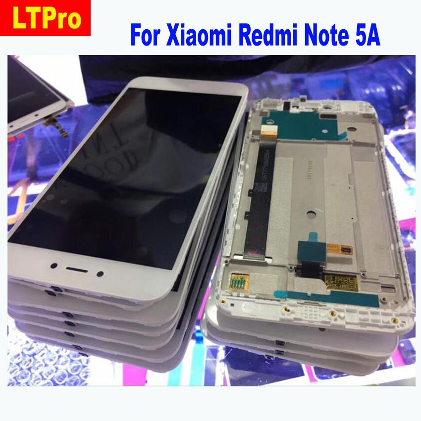 LTPro LCD Display with Touch Screen Digitizer Assembly with frame For Xiaomi Redmi Note 5A Prime Pro Phone Repair Parts