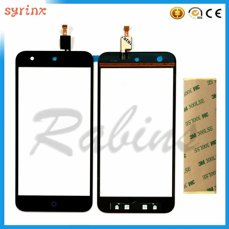 Mobile Phone Touch Sensor Screen For ZTE Blade x5 Front Glass Digitizer Touch Panel Touchscreen Touchpad