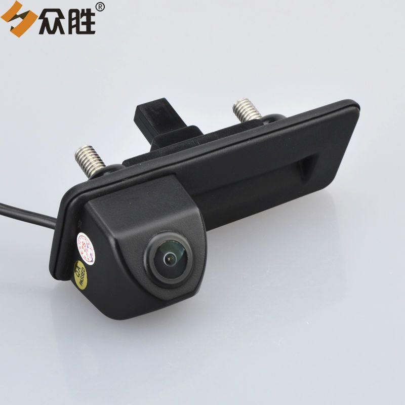 Car Rear View Camera for Skoda Octavia 2010 2012 2013 Auto Trunk Handle Backup Reverse Parking Assistance Rearview Camera LS8011