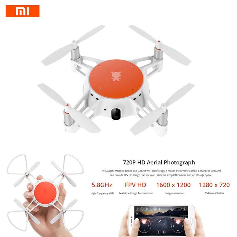 Original Xiaomi MiTu WiFi FPV With 720P HD Camera Multi-Machine Infrared Battle Mini RC Drone Quadcopter BNF