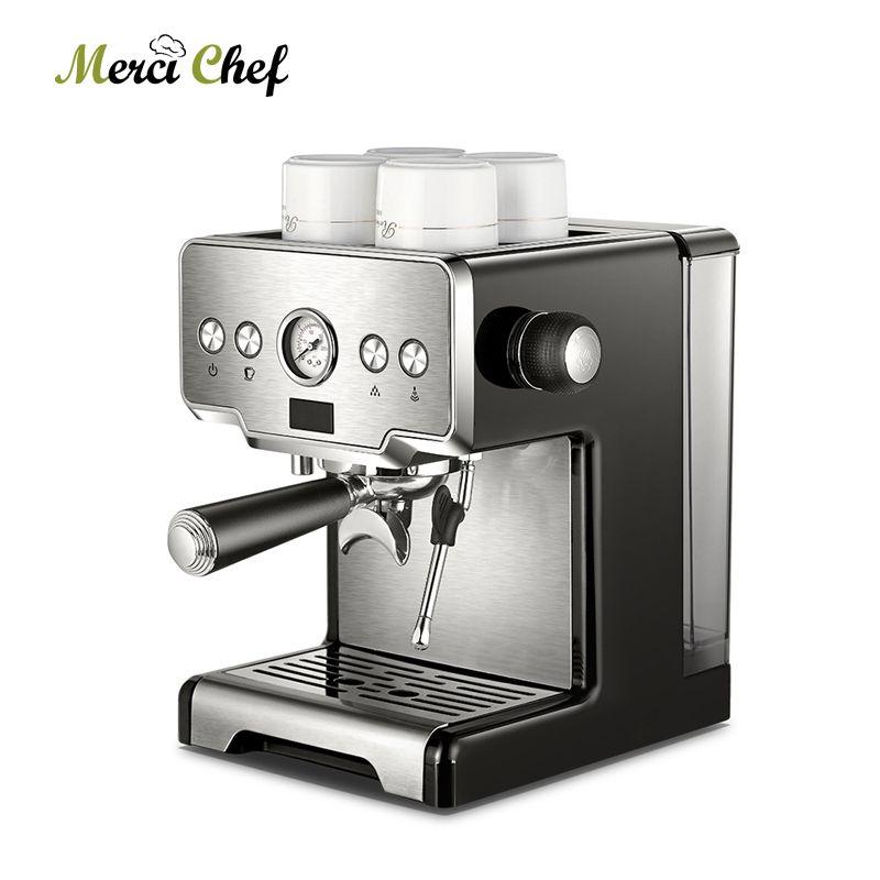 ITOP Kommerziellen Kaffee Maker 15 Bars Espresso Kaffee Maschine Mit Milch Blase Halbautomatische Italienische Kaffee Maschine CE