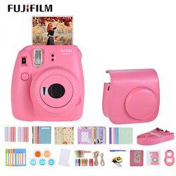 Fujifilm Instax Mini 9 Instant Camera for polaroid for Film Cam with Selfie Mirror Andoer  Instant Camera Accessories Bundle Kit