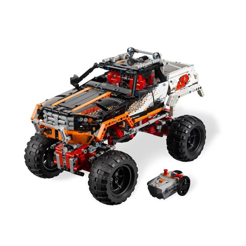 Compatible Legoe Technic 9398 model 20014 1386pcs 4X4 Crawler Vehicles Model building blocks Figure bricks toys for children