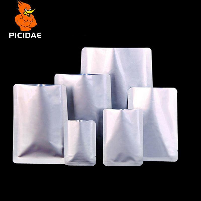 Vide Alimentaire Chaleur D'étanchéité Mylar Odeur Preuve emballage de papier aluminium Sac Stratification Économiseur Paquet Collations Thé Médicale Pochette Congélateur