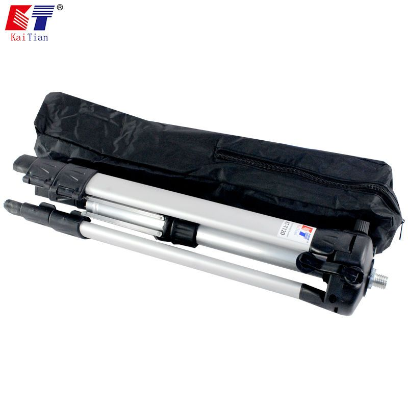 Kaitian Tripod for Laser Level with Extension Rod and Adjustable Height Plus Additional Detachable Angle Adjustment Bracket