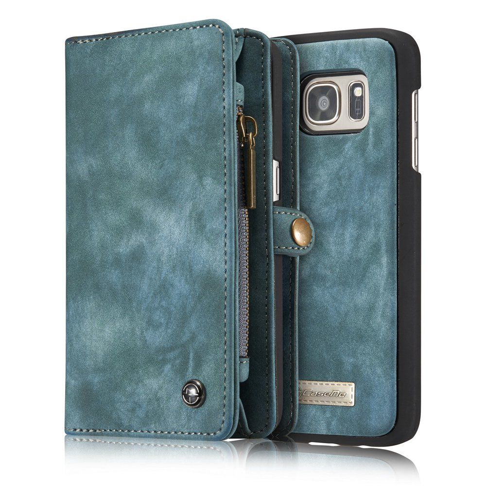 CaseMe Genuine Leather for Samsung Galaxy S7Edge G9350 Case MultiFunctional Wallet for Samsung Galaxy S7Edge 5.5inch Phone Case