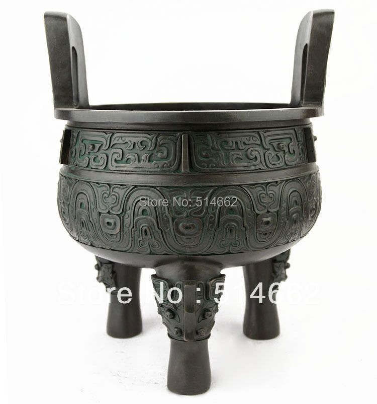 FENGSHUI CHINESE DING / ANTIQUE CHINESE BRONZE DING STATUES,CHINESE DING Sculptures