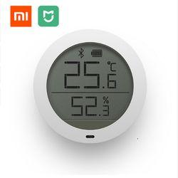 En Stock Xiaomi Mijia Bluetooth Hygrothermographe Haute Sensibilité Hygromètre Thermomètre LCD Écran Autocollant Magnétique Faible Consommation