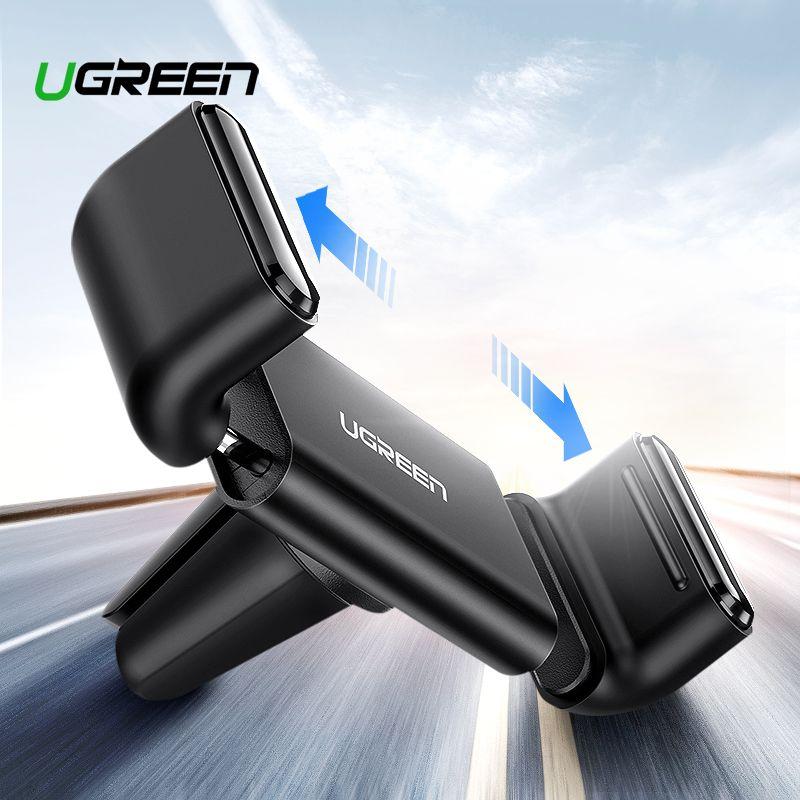 Ugreen Auto Telefon Halter für iPhone XS X Samsung S8 Air Vent Halterung Auto Halter für Handy im Auto Mobile unterstützung Telefon Halter Stehen