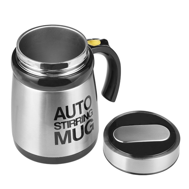 High Quality Automatic Coffee Stirring Mug Electric Milkshake Cup Grain Powder Mixing Cup Shaker Kitchen and Home Supplies