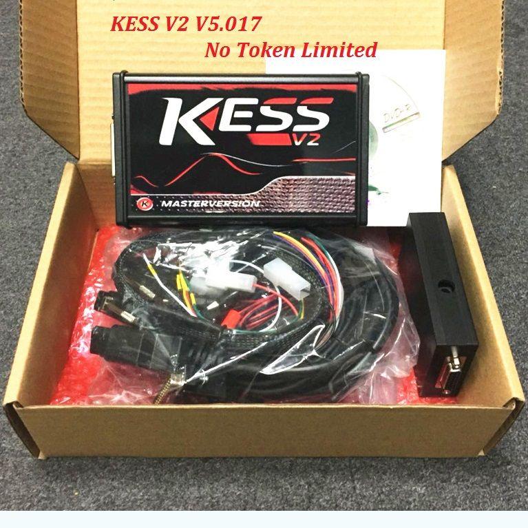 2018 new KESS V2 V5.017 Software V2.23 No Token Limited ECM Titaniu OBD2 Manager Tuning Kit ECU Programmer Express delivery