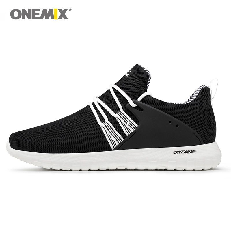 2018 Men Walking Shoes Women Super Light Soft Black Classic Comfortable Sports Footwear Trainers Outdoor Trail Running Sneakers