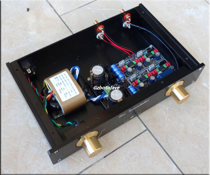 NEW finished HIFI MBL6010D Preamplifier Pre-amplifier ALPS Potentiometer