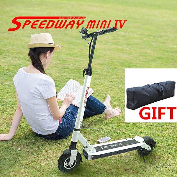 Speedway мини IV 4 два Колёса 8 дюймов складной Электрические скутеры скейтборд 48 В 15.6ah 500 Вт мотор 45 км/ч диапазон 60 км