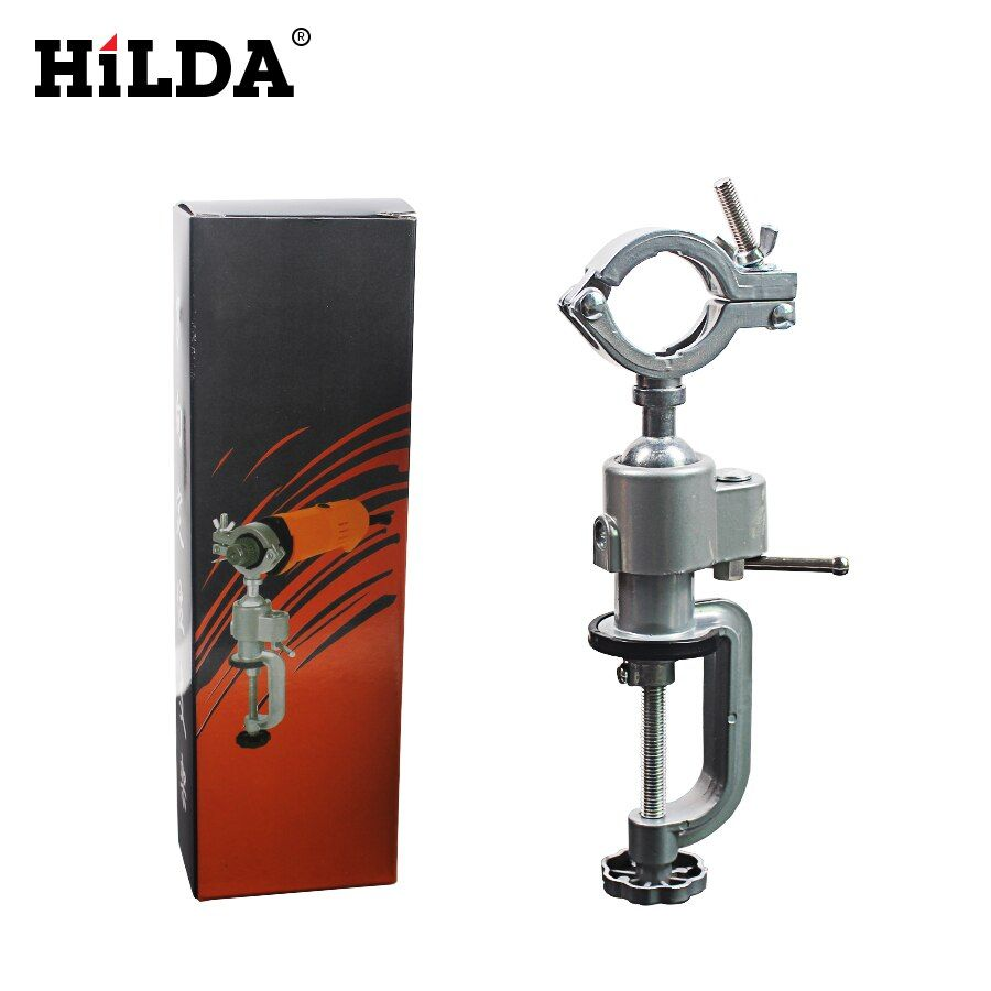 HILDA Grinder Accessory Electric Drill Stand Holder Electric Drill Rack <font><b>Multifunctional</b></font> bracket used for Dremel dremel stand