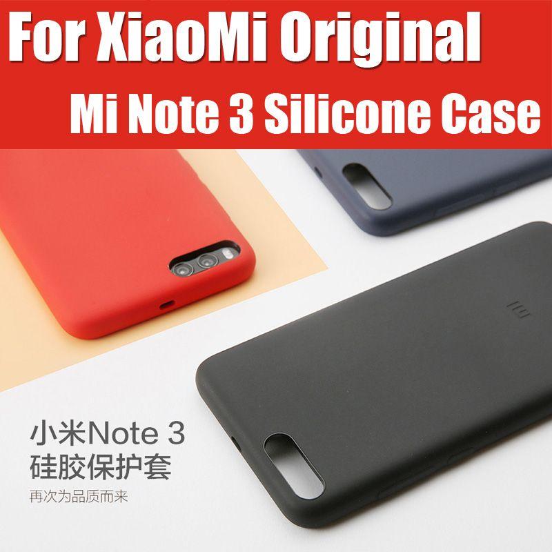 NYE5654TY Original Xiaomi Mi 3 Note 3 Case Silicone PC Fiber 5.5