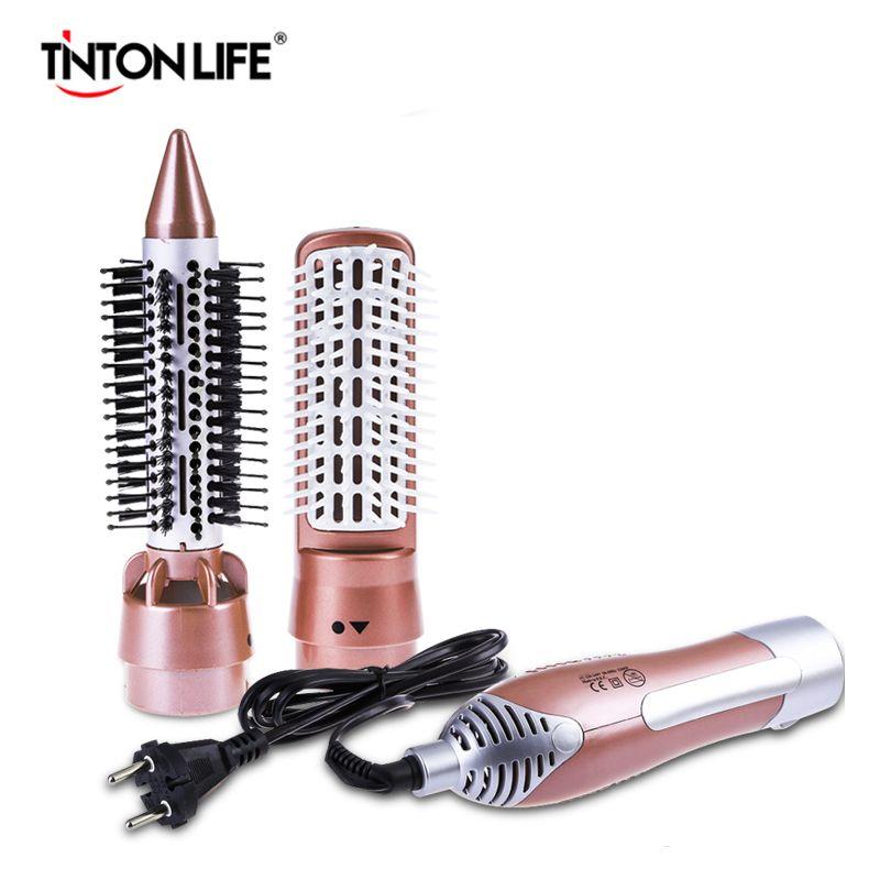 TINTON VIE Professionnel Sèche-Cheveux Machine À Peigne 2 dans 1 Multifonctionnel Styling Outils Ensemble Sèche-Cheveux
