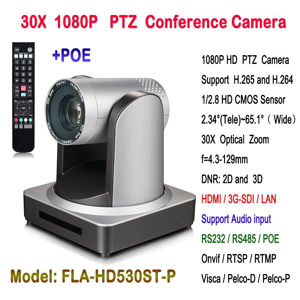Video ptz kamera volle hd 1920x1080 ip poe konferenz 30x Zoom mit 3G-SDI hdmi ausgang