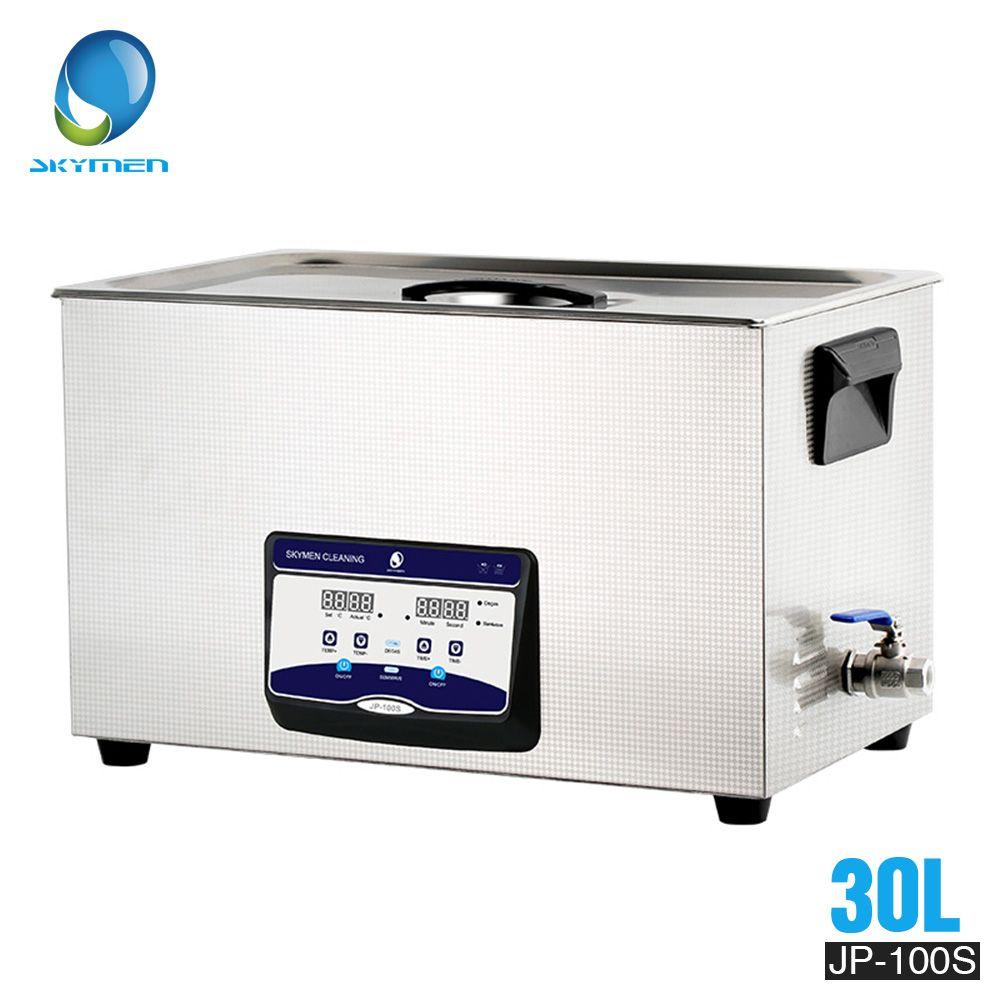 SKYMEN 30l Ultraschall Reiniger 30l 600 W 110/220 V edelstahl für waschen Hardware Zubehör Golf Clubs Auto teile