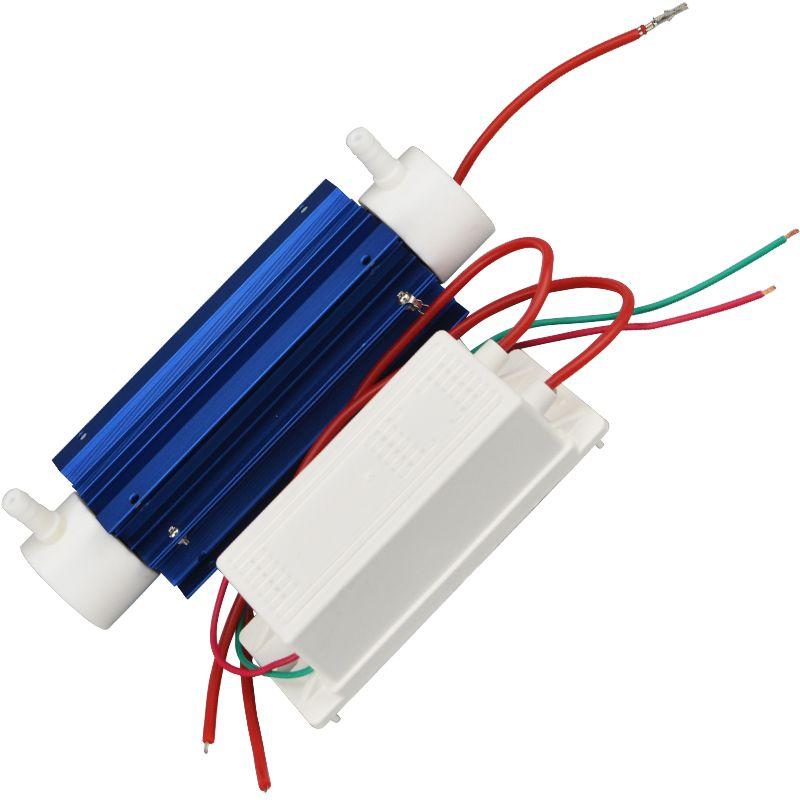 AC220V 7g/h Newst Ozone Generator Water Treatment Suite Ozonizer Quartz Tube Kit Air Ozonator Sterilizer Machine