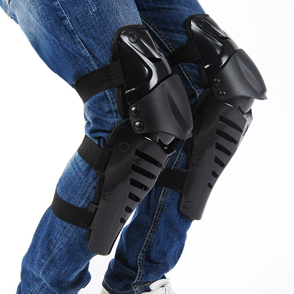 1pair Knee Shin Guards Protector Braces Adult Knee Shin Protector Brace ATV Motocross MX Dirt Bike Cycling Keen Support Pad