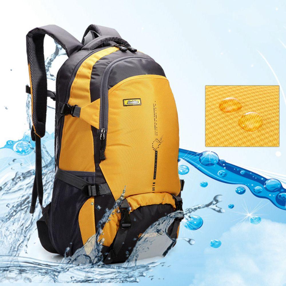 Solide 45L wasserdichte Ourdoor Rucksack Sport Rucksack Wandern Klettern Camping Wandern Rucksack Packsack Taschen für Männer Frauen