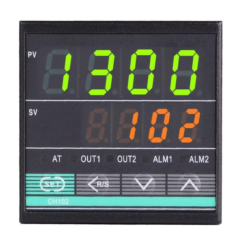 48*48mm RKC régulateur de température numérique Thermostat K/J/E/S/R/PT100 entrée, sortie relais pour incubateur d'oeufs