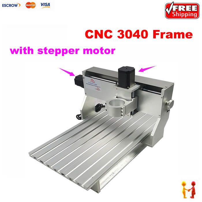 Cnc-fräsmaschine aluminium ersatzteile 3040 CNC rahmen router Mit schrittmotor und endschalter