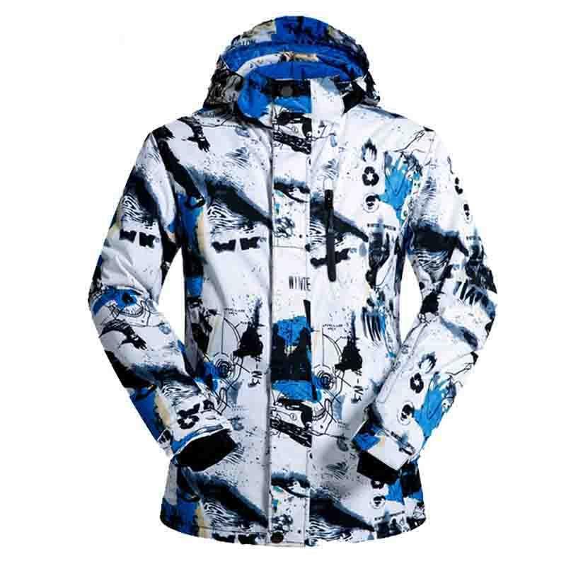 Верхняя одежда лыжный костюм Для мужчин wo Для мужчин S лыжный костюм ветрозащитная дышащие водонепроницаемые зимние теплые женские сноубор...