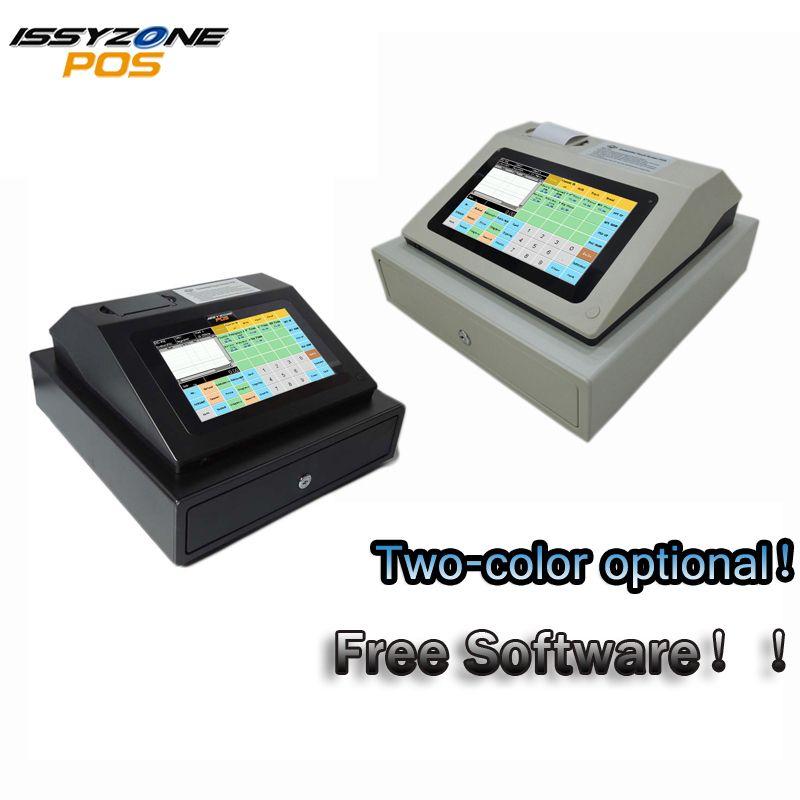 IPCR004 Freie Software Touch Screen Automatische Elektronische Geld Cash Register Alle in einem POS für Restaurant/Trinken/milch /tee Shop