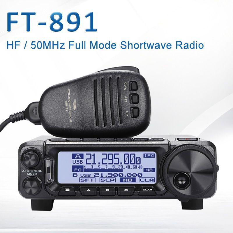 Gelten für Yaesu FT-891 HF/50 MHz 100 Watt volle-modus kurzwelligen radio mini auto radio Transceiver
