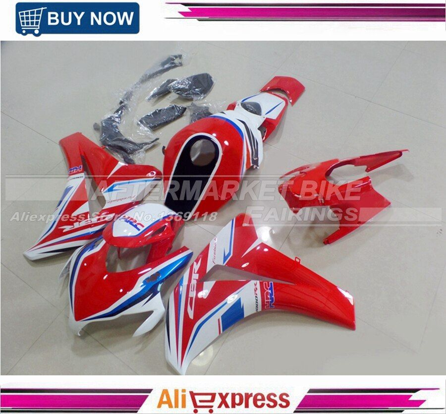 HRC CBRC 1000RR BR1000RR 08-11 Injection Mould ABS 100% Fitment Fairings Kits For Honda 2008-2011 CBR1000 RR