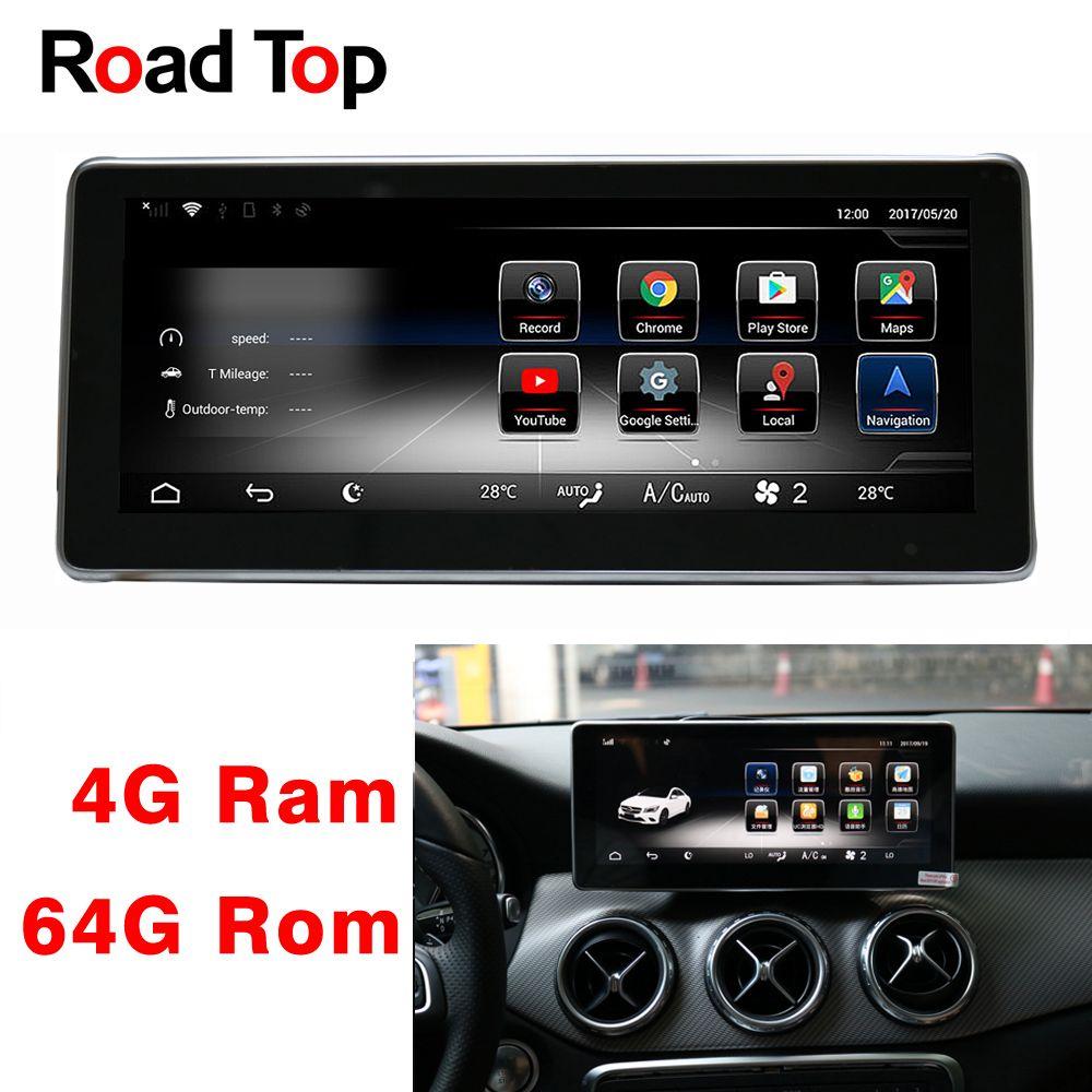 10,25 Android 8 Display 4 + 64G Auto Radio Multimedia GPS Navigation Kopf Einheit für Mercedes Benz GLA180 GLA200 GLA250 GLA220 GLA45