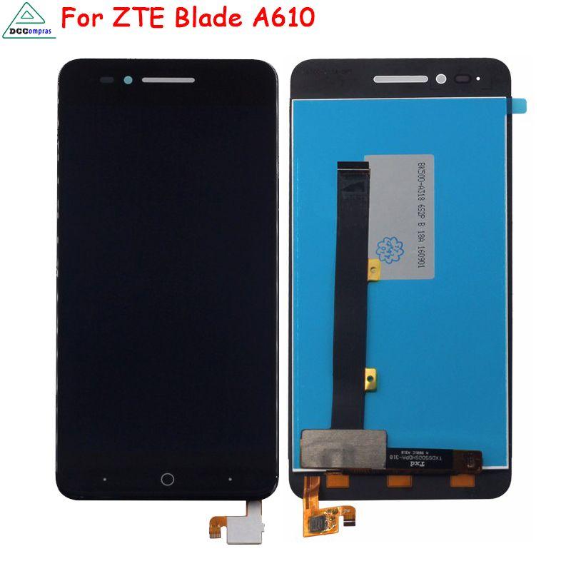 Pour ZTE Blade A610 A610C LCD Affichage Écran Tactile Digitizer pour ZTE Voyage 4 Lame BA610 Écran LCD Affichage Livraison outils