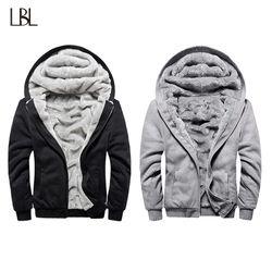 Europea moda bombardero hombre Vintage engrosamiento chaqueta de lana Otoño Invierno diseñador famosa marca hombre Slim Fit abrigo caliente 2018