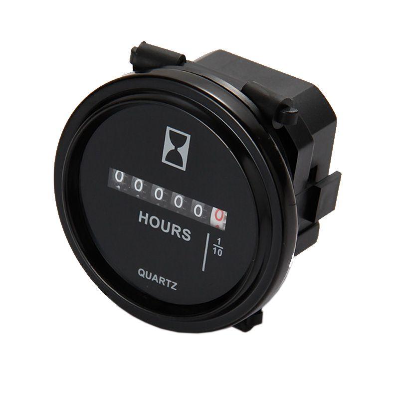 Mechanical Hour meter counter TIMER hourmeter for generator diesel gasoline petrol engine DC 8V 12V 24V 36V 48V 72V 80V