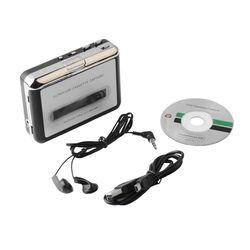 Portable USB Cassette Tape Converter Cassette to MP3 Audio capture Music Player Tape to PC  Cassette-to-MP3 Converter Hot sale