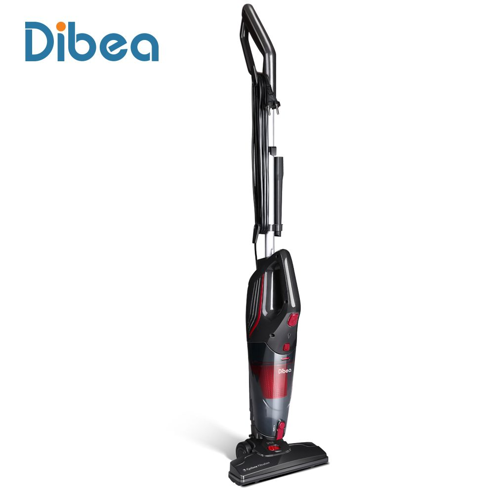 Dibea SC4588 Corded Vacuum Cleaner with Handheld Dust Collector Multifunctional Brush Household Stick Aspirator Vacuum Cleaner